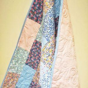 Designer Pretty Floral Baby Quilt