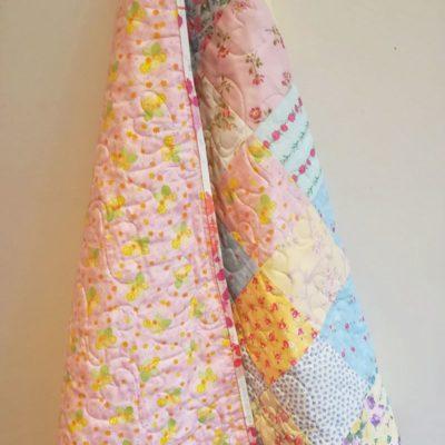 Miniature Floral Baby Patchwork Quilt