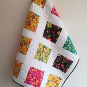 Modern Fresh Youth Quilt for Girl