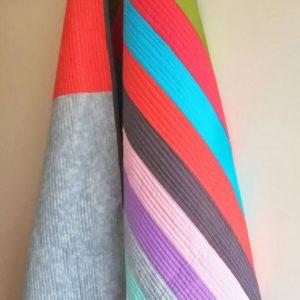 Modern Rainbow Coloured Quilt-Throw