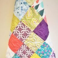 Vibrant Baby, Toddler or Youth Quilt